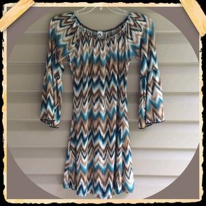 2 B together chevron dress